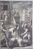 Le Christ battu par les soldats. D'une suite de 8 pièces, gravées d'après C. Schwartz.. SADELER Johannes