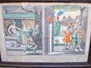Suite rarissime de 5 planches : histoire de Joseph. LEBLOND
