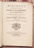 Discours prononcés dans l'Académie Françoise le lundi 13 mai 1771 à la réception de l'abbé Arnaud. Discours prononcés dans l'Académie Françoise le ...
