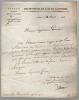 Lettre signée Agen le 11 mars 1812 adressée au Procureur Général à Agen.. VILLENEUVE-BARGEMON