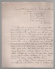 """Manuscrit autographe signé du pseudonyme """"lou citoyen Barjo-mau"""" (13 juillet 1898, d'après une note du félibre Bruneau).. BOUVET Henri"""