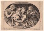 La Sainte Famille.. SADELER Johannes I