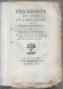 Des droits du Pape sur le Comté venaissin et l'État d'Avignon; et réfutation de l'écrit de M. Bouche.. MAURY Jean-Siffrein et baron de Sainte-Croix