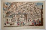 Représentation du feu terrible à Nouvelle York, la nuit du 19 septembre 1776 .... (Franz Xaver HABERMAN)