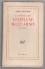 La poésie de Stéphane Mallarmé. THIBAUDET Albert