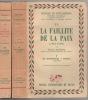 La faillite de la paix. . BAUMONT Maurice