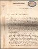 (1796-1866) Directeur du collège Sainte-Barbe de 1838 jusqu'à sa mort.. LABROUSTE Alexandre