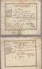 Billets de logement. 1815