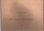 Vente après décès. Collection de M. Victor Desfossés. Catalogue des importants tableaux modernes …. Victor Desfossés