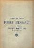 Catalogue de tableaux modernes. Collection Pierre Leenhardt Ancienne collection Louis Bazille de Montpellier