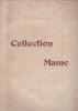 Catalogue de tableaux anciens. Collection Mame