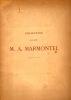 Catalogue des tableaux … composant la collection de M. A. Marmontel. Colection de feu M. A. Marmontel