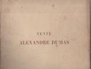 Catalogue des tableaux anciens et modernes formant la collection de m. Alexandre DUMAS.. Vente Alexandre DUMAS