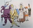 Riquet à la Houppe et ses Compagnons. Préface de Anatole France. Illustrations de Gus Bofa.. HESSE (Raymond).