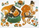 Deux Contes Russes. Illustré par Elisabeth Ivanovsky.. IVANOVSKY (Elisabeth).