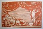 Théâtre. Edition conforme aux textes originaux établie par Louis Perceau et ornée de bois en deux tons gravés par Georges Aubert d'après Fernand ...