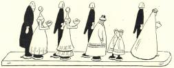 Les Jouets des Nations. Dessins et commentaires par H. Avelot. Art et Décoration , Janvier 1928.. AVELOT (H.).