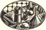 Suite domestique en dix tableaux par le Tailleur de Bois Morin-Jean.. MORIN-JEAN.