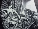 La Gageure ou cent-cinquante épigrammes, & madrigaux contre  les femmes fardées. Edition nouvelle ornée de nombreuses gravures sur bois par D. ...