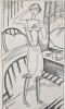 L'Appartement des Jeunes Filles. Orné de gravures au burin de J. -E.  Laboureur.. LABOUREUR (J.-E.). ALLARD (Roger).
