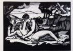 Vénus et Adonis. Poème traduit en français par Emile Godefroy et orné de gravures sur bois originales par Roger Grillon. . SHAKESPEARE (William).