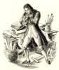 Le Nouveau Théophraste. 6 caractères tirées d'un manuscrit inédit par Fernand Fleuret suivis de commentaires médicaux par M. Le Professeur Lhermitte. ...
