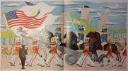 Fou Fou discovers America. French and English. Text and illustrations by Jean de Botton.. BOTTON (Jean de).