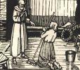 Le Miracle de Saint-Antoine. Farce en deux Actes. Frontispice et illustrations dessinés et gravés sur bois par André Deslignères.. MAETERLINCK ...