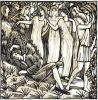 Six Sonnets du XVIe siècle . Ornés de bois de Raphaël Drouart. . DROUART (Raphaël).