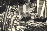 Société de la gravure sur bois originale. Deuxième exposition. Janvier 1922.. GRAVURE.