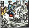 Picardie. Roman des aventures du Sergent Saint-Pierre et de Babet Molina. Illustrations en couleurs dessinées et gravées sur bois par André Collot.. ...