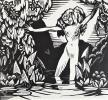 Protée.Drame satyrique en deux actes.  Illustré par Daragnès.. CLAUDEL (Paul).