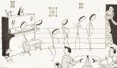 Au royaume de la Musique. Madame Solfège et ses sept enfants. Album à colorier. Dialogues de Paule-Marie. Illustrations de Bernard.. RAYNAUD-ZURFLUH.