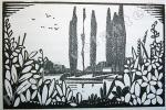 Dix jours à Ermenonville. Avec des vignettes gravées sur bois par Alfred Latour. . LACRETELLE (Jacques de).