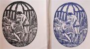 Le  promenoir des deux amants. Poème orné de huit bois inédits dessinés et gravés par Monsieur Raphaël Drouart. . LHERMITE (Tristan).