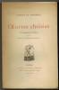 Oeuvres choisies. Avec le portrait de l'auteur et la notice de Charles Baudelaire.. LE VAVASSEUR (Gustave).
