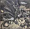 Llegenda del Drac de Sant Llorenç del Munt. Poema. Amb gravats a la ma de Isidre Odena. . PONS (Iu).
