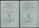 Le premier livre d'Amadis de Gaule. Publié sur l'édition originale par Hugues Vaganay. 2 volumes.. AMADIS DE GAULE.
