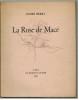 La Rose de Macé.. BERRY (André).