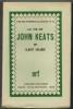 La vie de John  Keats.. ERLANDE (Albert).