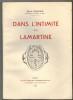 Dans l'intimité de Lamartine.. MAGNIEN (Emile).