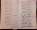 Discours de la condition de l'homme. Ce qui reste du manuscrit en reproduction phototypique et restu=itution par P.-L. Couchoud.. PASCAL (Blaise).