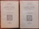 La vie et l'oeuvre d'André Chénier jusqu'à la Révolution française 1762-1790. . DIMOFF (Paul).