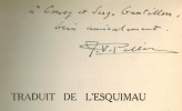 Traduit de l'esquimau.. PELLERIN (Jean-Victor).