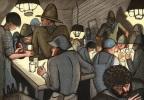 Le Bar de la Fourche. Avec des gravures en couleurs de Pierre Falké.. GILBERT DE VOISINS (A.).