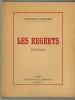 Les Regrets. Poèmes. . LAPEYRE (Eugène).