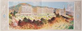 Aix-Les-Bains. Les Hôtels Splendide Royal, Excelsior de l'Europe et Villa Victoria. L.G. Rossignoli Directeur Administratif.. TOURISME.