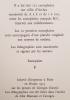 L'arbre descend du singe. Introduction par Vincent Bounoure.. BEDOUIN (Jean-Louis) et HALLART (Guy).