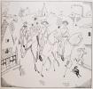 Dans les Flandres  Britanniques. Vingt-quatre dessins de J.E. Laboureur. Textes de X.M. Boulestin.. LABOUREUR et BOULESTIN.