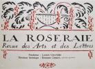 La Roseraie. Revue des Arts et des Lettres. Numéro hors série.. REVUE.